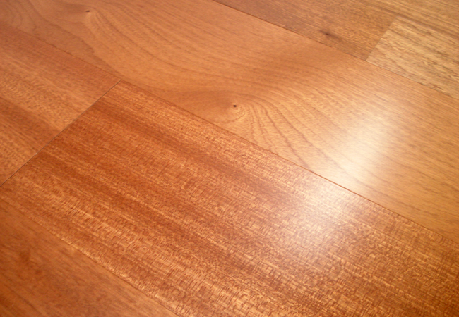 Owens Flooring Sapele Select Factory Finished Engineered Hardwood Flooring