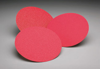 Norton Abrasives Red Heat Velcro 8 Inch Discs for Lagler Trio
