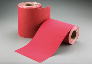 Norton Abrasives Red Heat Drum Sander Paper 8 Inch x 25 Yard