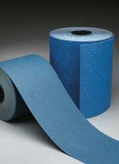 Norton Abrasives Blue Fire Drum Sander Paper 8 Inch x 25 Yard