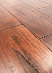 LW Mountain Hardwood Floors Prefinished One Strip Distressed Engineered Hardwood Flooring