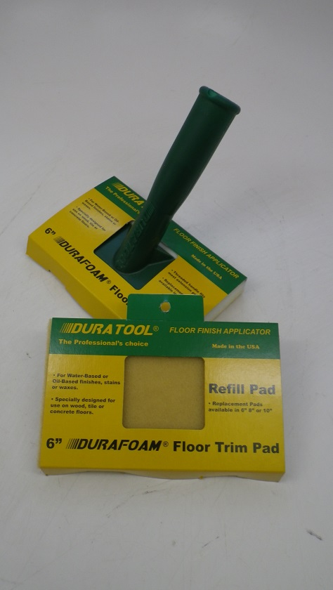 Duratool Floor Finish Trim Pad Applicators